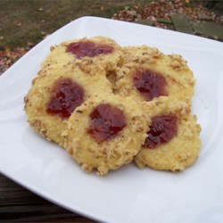 Swedish Jam Cookies Recipe