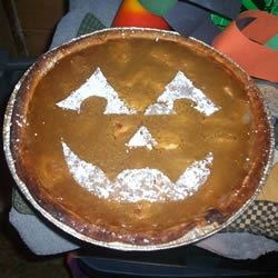 MommyG'sFresh Pumpkin Pie