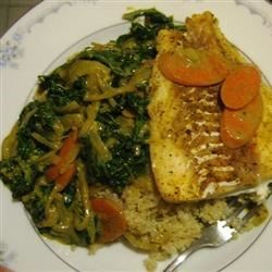 Coconut Curry Fish Recipe