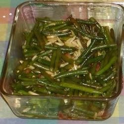 Sweet Green Bean Bundles