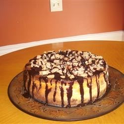 Choc chip cookie dough cheesecake