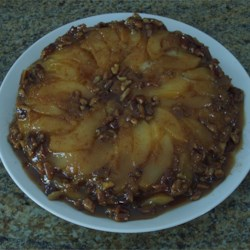 Cranberry Pear Upside-Down Cake Recipe
