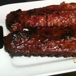 Southern Grilled Barbecued Ribs Recipe