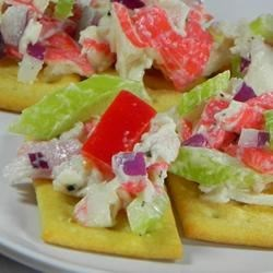 Imitation Crabmeat Salad Recipe