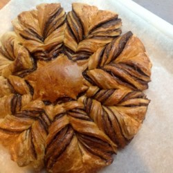 Nutella(R) Star Bread with Puff Pastry