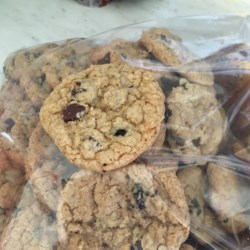 Gluten-Free Delicious Soft Oatmeal Cookies