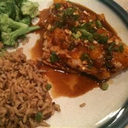 Photo of Baked Snapper with Mandarin Oranges, Cashews and Ginger by MICHELLE0011