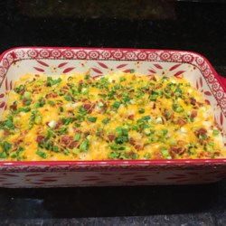 Easy Loaded Baked Potato Casserole