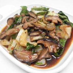Bok Choy and Shiitake Stir Fry