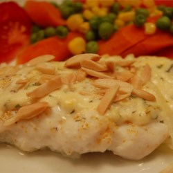 Image of Almond-Topped Fish, AllRecipes