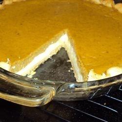yummy twist on pumpkin pie
