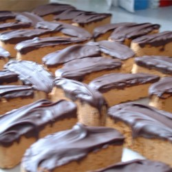 Chocolate Dipped Orange Biscotti (Mini)