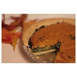 Photo of Spinach Pumpkin Swirl Quiche by Suzy
