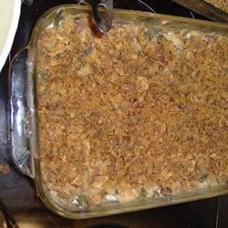 Crunchy Green Bean Casserole Recipe