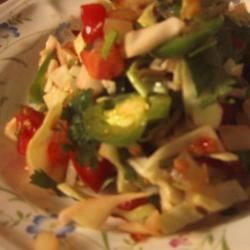 Cabbage, Tomato and Onion Salad Recipe