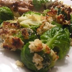 Breaded Brussels Sprouts Recipe