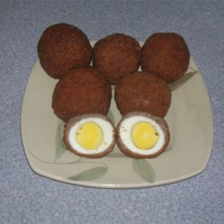 Scotch Eggs Recipe - A delicious and easy Christmas Eve recipe for your family.