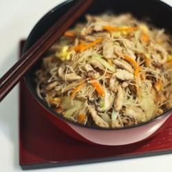 tsao mi fun taiwanese fried rice noodles printer friendly