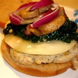 Garlic and Ranch Turkey Burgers Recipe