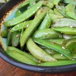 Photo of Asian Sugar Snap Pea Appetizer by Heidi T