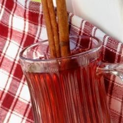 Hot Spiced Cranberry Cider Recipe