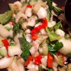Chef John's Garlic and Ginger Bok Choy