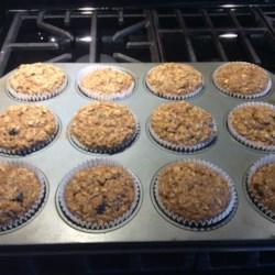 Oatmeal-Banana Muffins
