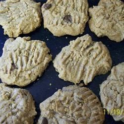 Peanut Butter Shortbread Cookies Recipe