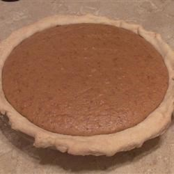 REAL Homemade Pumpkin Pie Recipe