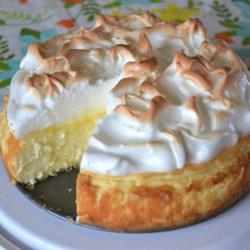 lemon meringue cheesecake printer friendly