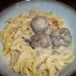 Swedish Meatball Casserole Recipe