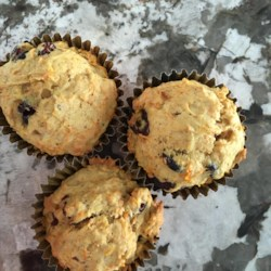 Carrot and Cranberry Muffins