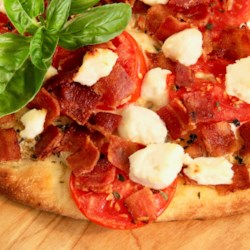 naan bread goat cheese and tomato pizza printer friendly