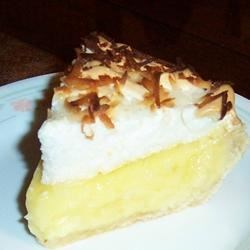 Coconut Cream Pie V Recipe