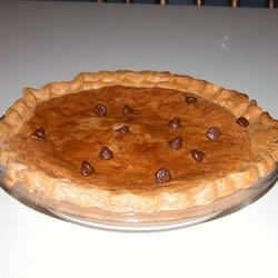 Chocolate Chip Pie I