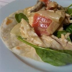 Photo of Take-Out Fake-Out Pollo Con Crema by Sarah Jo