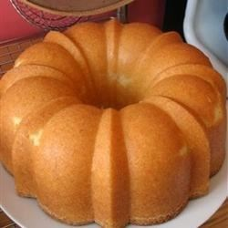 Old Fashioned Pound Cake II Recipe