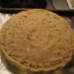 PW's apple pie before baking