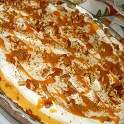 Swirled Pumpkin and Cream Cheese Cheesecake Recipe