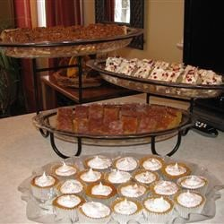 Thanksgiving Dessert Buffet
