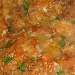 Delectable Shrimp Scampi