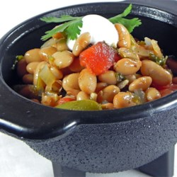 Kiki's Borracho (Drunken) Beans Recipe