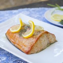 Cedar Plank-Smoked Salmon