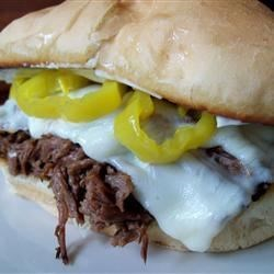 Italian Beef for Sandwiches