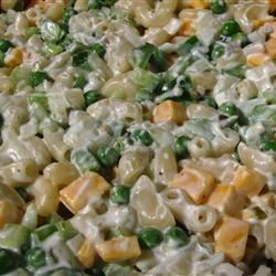 Cheddar and Macaroni Salad Recipe