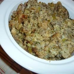 Sausage and Cornbread Dressing Recipe