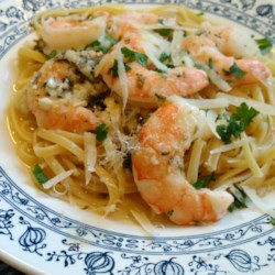 Garlic Shrimp Scampi Bake