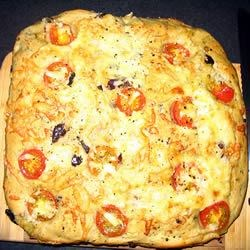 Black Olive and Rosemary Focaccia Recipe