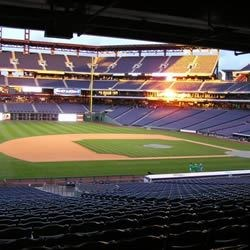 Citizen's Bank Park, Philadelphia, PA at Sunset