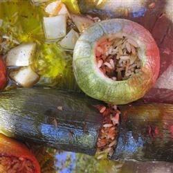 Photo of Greek Stuffed Zucchini by Gracey